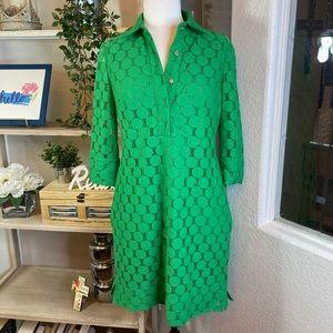 Adrianna Papell green dress